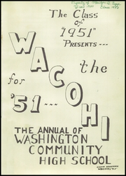 Page 7, 1951 Edition, Washington Community High School - Wacohi Yearbook (Washington, IL) online yearbook collection