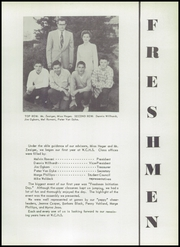 Page 15, 1955 Edition, Washington Community High School - Wacohi Yearbook (Washington, IL) online yearbook collection