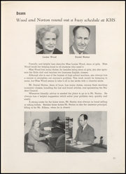 Page 15, 1951 Edition, Kankakee High School - Kankakeean Yearbook (Kankakee, IL) online yearbook collection
