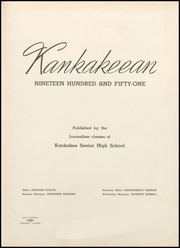 Page 5, 1951 Edition, Kankakee High School - Kankakeean Yearbook (Kankakee, IL) online yearbook collection