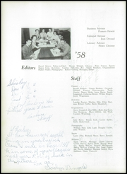Page 10, 1958 Edition, East Alton Wood River High School - Oiler Yearbook (Wood River, IL) online yearbook collection
