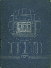 1937 Edition, Wells High School - Correlator Yearbook (Chicago, IL)
