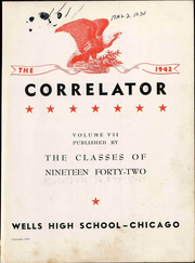 Page 9, 1942 Edition, Wells High School - Correlator Yearbook (Chicago, IL) online yearbook collection