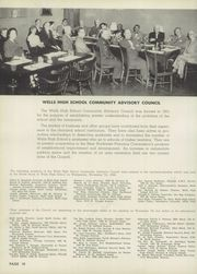 Page 14, 1957 Edition, Wells High School - Correlator Yearbook (Chicago, IL) online yearbook collection