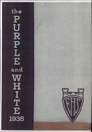 1935 Edition, Englewood High School - Purple and White Yearbook (Chicago, IL)