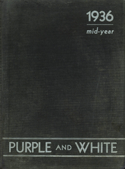 1936 Edition, Englewood High School - Purple and White Yearbook (Chicago, IL)