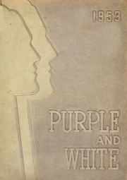 1953 Edition, Englewood High School - Purple and White Yearbook (Chicago, IL)