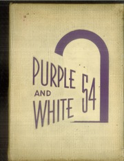 1954 Edition, Englewood High School - Purple and White Yearbook (Chicago, IL)