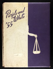 1955 Edition, Englewood High School - Purple and White Yearbook (Chicago, IL)
