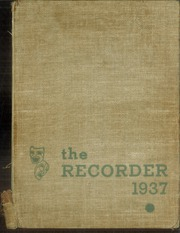 1937 Edition, Charleston High School - Recorder Yearbook (Charleston, IL)