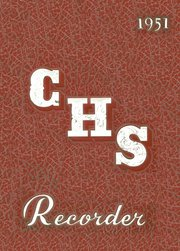 1951 Edition, Charleston High School - Recorder Yearbook (Charleston, IL)
