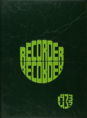 1973 Edition, Charleston High School - Recorder Yearbook (Charleston, IL)