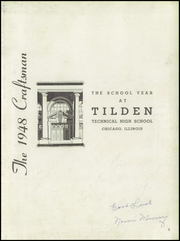 Page 7, 1948 Edition, Tilden Technical High School - Craftsman Yearbook (Chicago, IL) online yearbook collection