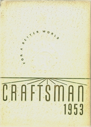 Page 1, 1953 Edition, Tilden Technical High School - Craftsman Yearbook (Chicago, IL) online yearbook collection