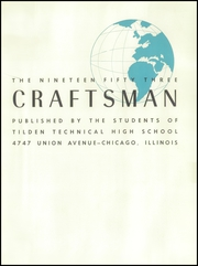 Page 5, 1953 Edition, Tilden Technical High School - Craftsman Yearbook (Chicago, IL) online yearbook collection