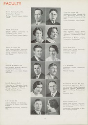 Page 12, 1936 Edition, East High School - Speculum Yearbook (Aurora, IL) online yearbook collection