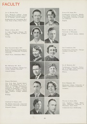 Page 14, 1936 Edition, East High School - Speculum Yearbook (Aurora, IL) online yearbook collection