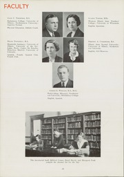 Page 16, 1936 Edition, East High School - Speculum Yearbook (Aurora, IL) online yearbook collection