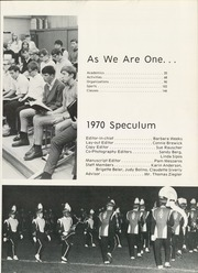 Page 7, 1970 Edition, East High School - Speculum Yearbook (Aurora, IL) online yearbook collection