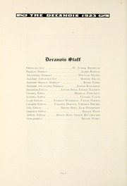 Page 16, 1923 Edition, Decatur High School - Decanois Yearbook (Decatur, IL) online yearbook collection