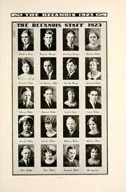 Page 17, 1923 Edition, Decatur High School - Decanois Yearbook (Decatur, IL) online yearbook collection