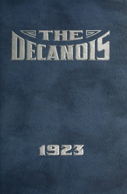 Page 5, 1923 Edition, Decatur High School - Decanois Yearbook (Decatur, IL) online yearbook collection