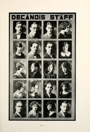 Page 17, 1924 Edition, Decatur High School - Decanois Yearbook (Decatur, IL) online yearbook collection