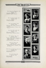 Page 17, 1926 Edition, Decatur High School - Decanois Yearbook (Decatur, IL) online yearbook collection