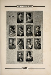 Page 11, 1929 Edition, Decatur High School - Decanois Yearbook (Decatur, IL) online yearbook collection