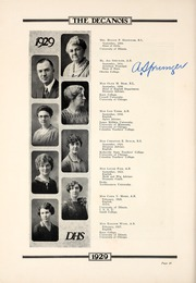 Page 14, 1929 Edition, Decatur High School - Decanois Yearbook (Decatur, IL) online yearbook collection