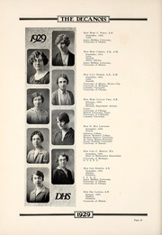 Page 16, 1929 Edition, Decatur High School - Decanois Yearbook (Decatur, IL) online yearbook collection