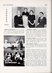 Page 24, 1938 Edition, Decatur High School - Decanois Yearbook (Decatur, IL) online yearbook collection