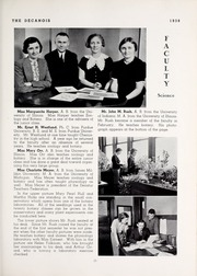 Page 29, 1938 Edition, Decatur High School - Decanois Yearbook (Decatur, IL) online yearbook collection