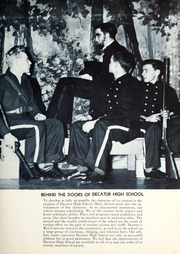 Page 11, 1940 Edition, Decatur High School - Decanois Yearbook (Decatur, IL) online yearbook collection