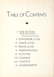 Page 8, 1940 Edition, Decatur High School - Decanois Yearbook (Decatur, IL) online yearbook collection