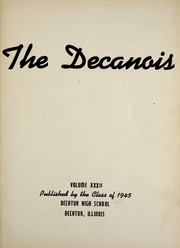 Page 5, 1945 Edition, Decatur High School - Decanois Yearbook (Decatur, IL) online yearbook collection