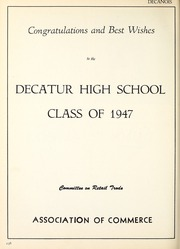 Page 258, 1947 Edition, Decatur High School - Decanois Yearbook (Decatur, IL) online yearbook collection