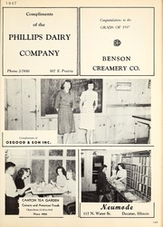 Page 269, 1947 Edition, Decatur High School - Decanois Yearbook (Decatur, IL) online yearbook collection