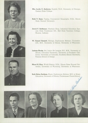 Page 14, 1949 Edition, Decatur High School - Decanois Yearbook (Decatur, IL) online yearbook collection