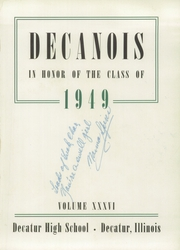 Page 5, 1949 Edition, Decatur High School - Decanois Yearbook (Decatur, IL) online yearbook collection