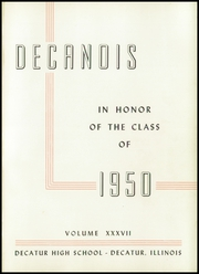 Page 5, 1950 Edition, Decatur High School - Decanois Yearbook (Decatur, IL) online yearbook collection