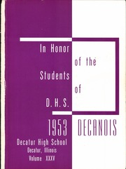 Page 7, 1953 Edition, Decatur High School - Decanois Yearbook (Decatur, IL) online yearbook collection