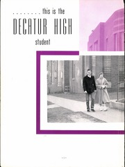 Page 8, 1953 Edition, Decatur High School - Decanois Yearbook (Decatur, IL) online yearbook collection