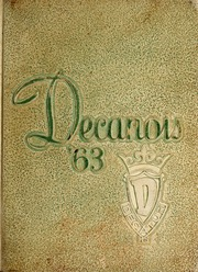 Page 1, 1963 Edition, Decatur High School - Decanois Yearbook (Decatur, IL) online yearbook collection