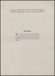 Page 9, 1914 Edition, East Aurora High School - Speculum Yearbook (Aurora, IL) online yearbook collection