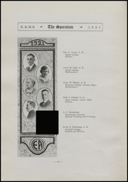 Page 16, 1921 Edition, East Aurora High School - Speculum Yearbook (Aurora, IL) online yearbook collection