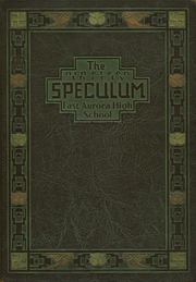 Page 1, 1930 Edition, East Aurora High School - Speculum Yearbook (Aurora, IL) online yearbook collection