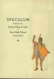 Page 7, 1930 Edition, East Aurora High School - Speculum Yearbook (Aurora, IL) online yearbook collection