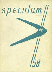 1958 Edition, East Aurora High School - Speculum Yearbook (Aurora, IL)