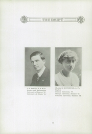 Page 16, 1917 Edition, Taylorville High School - Drift Yearbook (Taylorville, IL) online yearbook collection